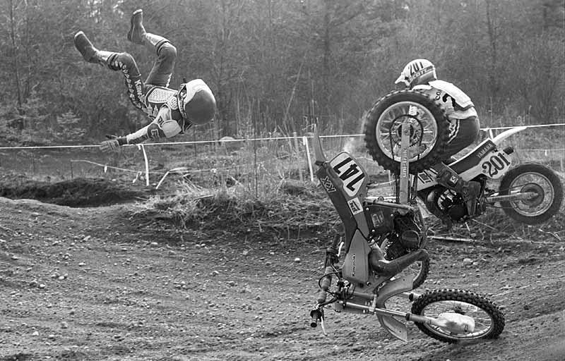 Dean McDonald motocross crash agassiz
