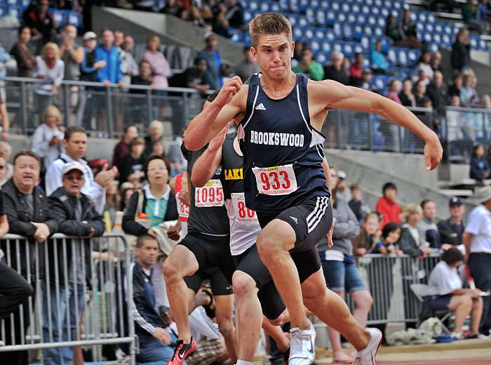 Jared Heldman sprinter 2009