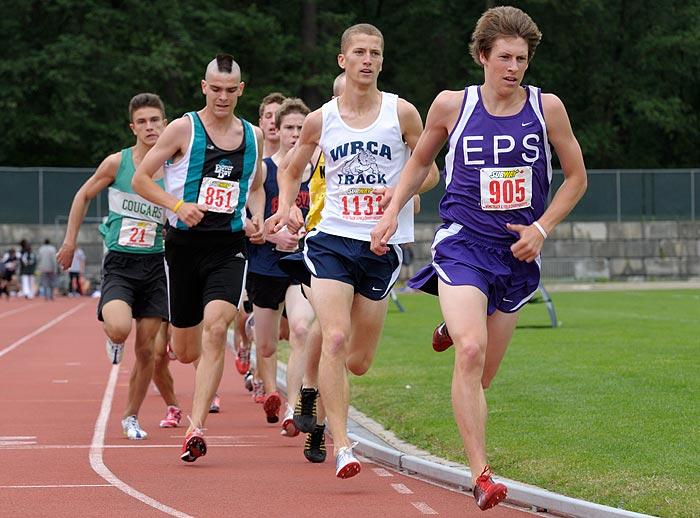 Luc Bruchet 1500 meters 2009