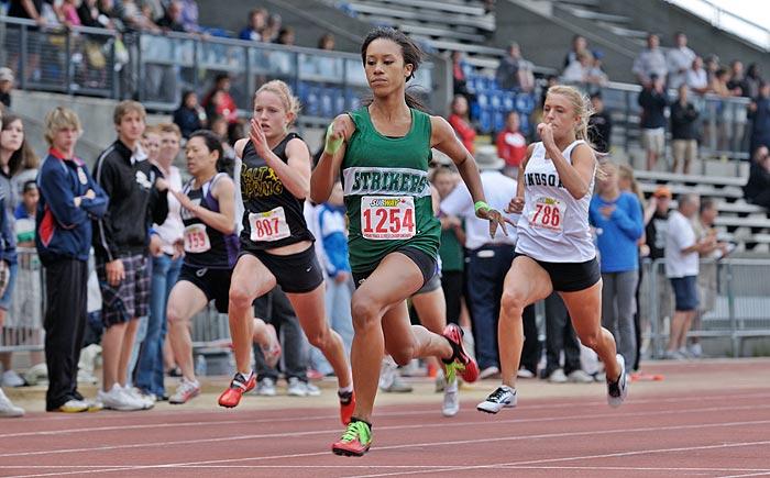 Shai-anne Davis sprinter 2009
