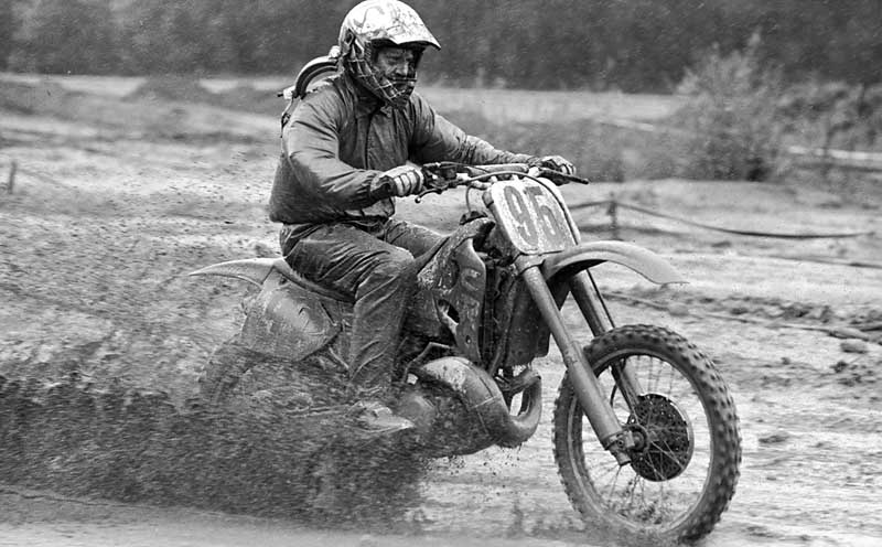 June 13th, 1992 -- BC Oldtimers International motocross race at Mission, BC.