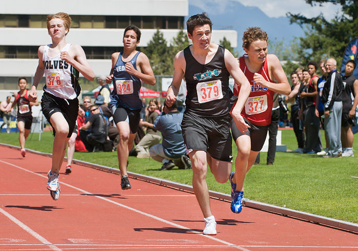 Ethan Wilkenson track meet