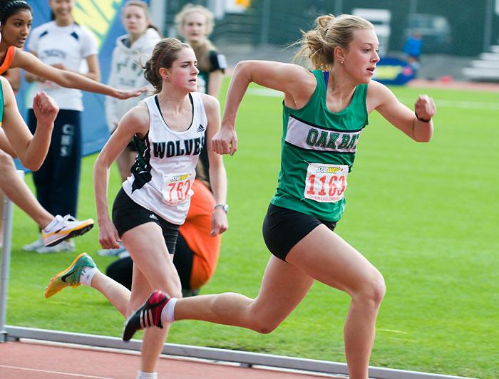 Zarria Storm 100 meter hurdles