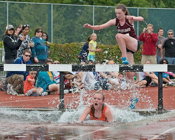 Jenny McCormack steeplechase