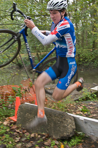 Escape Velocity cyclocross race