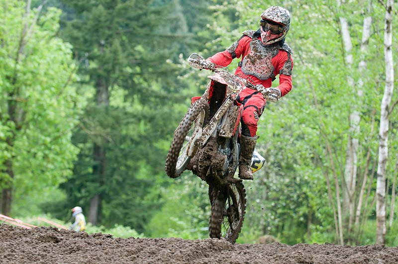 Second round of the BC Championship motocross series