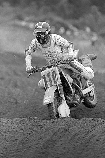 July 1986 -- BC Oldtimers International motocross race at Mission, BC