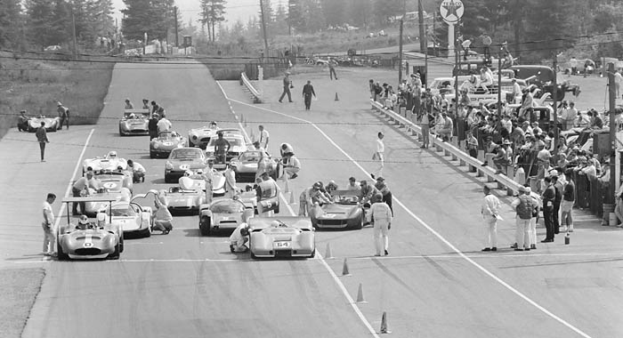 June 23rd, 1968 --  Players Pacific sports car race at Westwood Racing Circuit