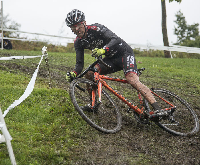 Cyclocross race at New Brighton Park in Vancouver.
