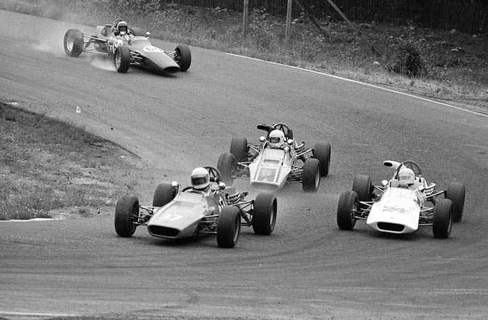 June 24th, 1973 -- Pepsi Pro Invitational Formula Ford race at West Race Track.
