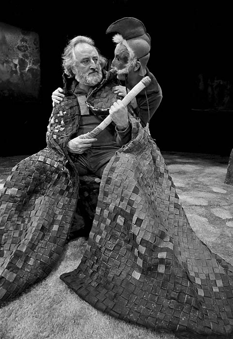 Powys Thomas as King Lear