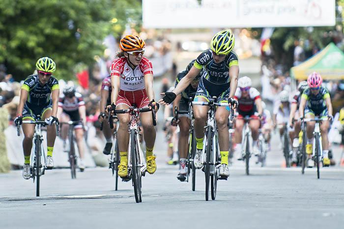 Leah Kirchmann wins Gastown Gran Prix