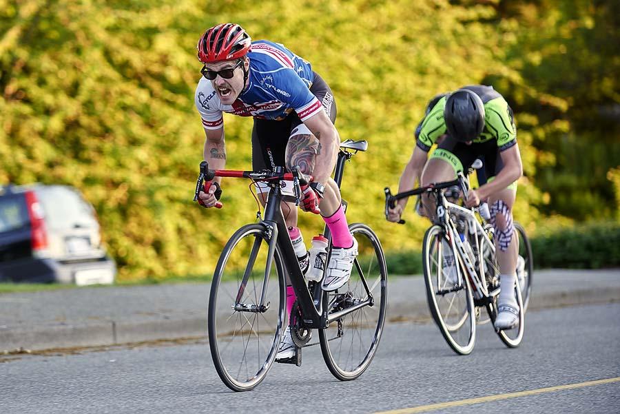 Escape Velocity Tuesday night criterium at UBC
