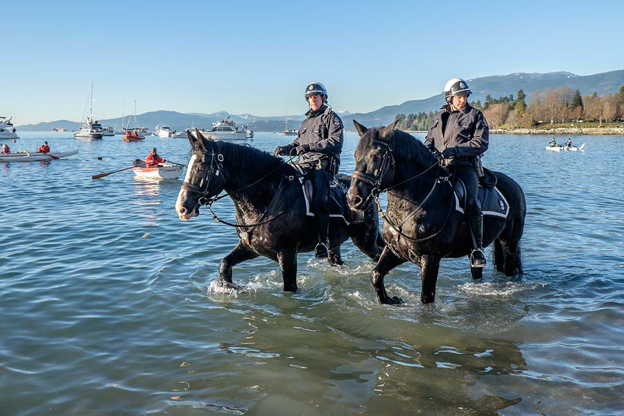 Mounted squad VPD 2