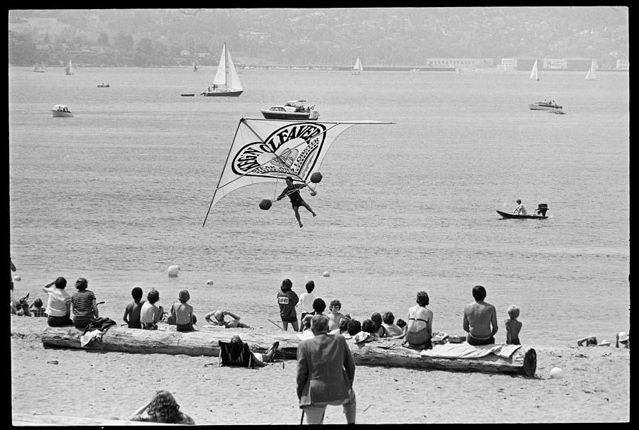 Hang Glider English Bay