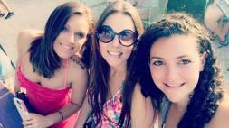 Friends and I at Anna Maria Island, Florida (April 2016)