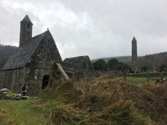 Monastery at Glendalough