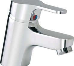 Ideal Standard Waschtischarmatur Slimline II verchromt inkl. Ablaufgarnitur