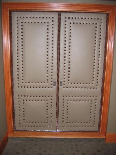 Upholstered Doors  Interior Design Indianapolis