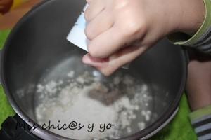plastelina con harina