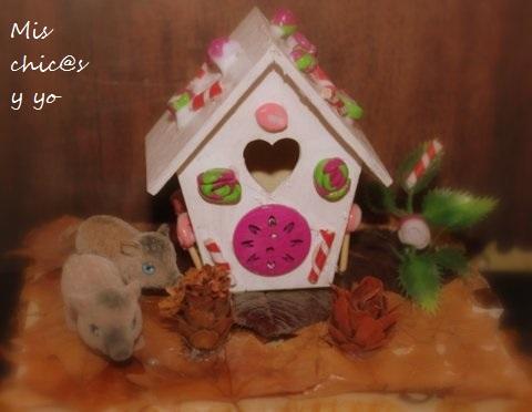 Manualidad otoño casita de Hansel y Gretel