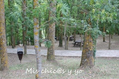 Zona de picnic en Fontibre
