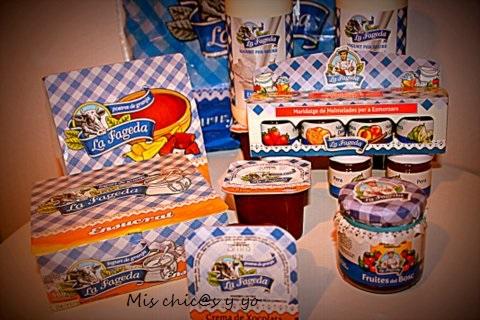 Yogur y mermelada la Fageda