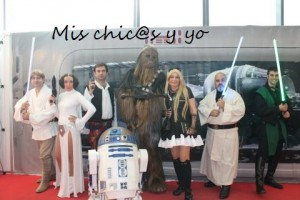 Photocall Stars Wars Manga 2015