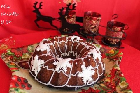 Bundt cake de Navidad