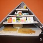 manualidad pirámide alimentos