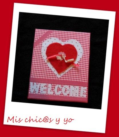Manualidad corazón san Valentín