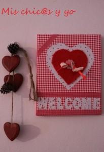 Cuadro decoración san Valentín