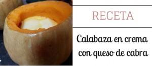 Receta de crema de calabaza, hortalizas de otoño para una dieta