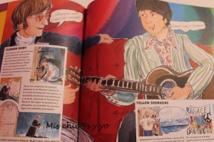 Álbum ilustrado de los Beatles