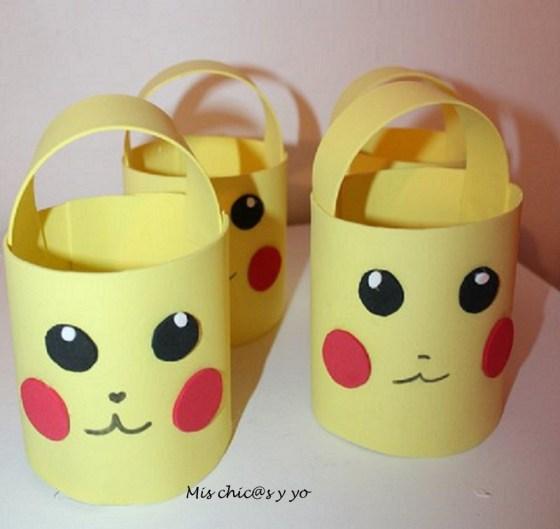 Cestos para caramelos de Pikachu
