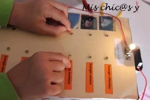 Circuito eléctrico casero