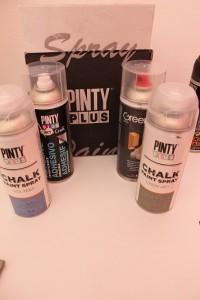 Pintura en spray para manualidades