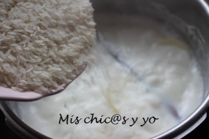 Cómo preparar arroz con leche
