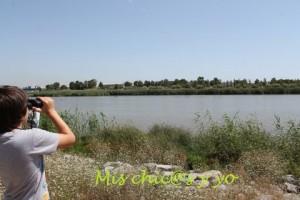 Niños en el delta del Llobregat