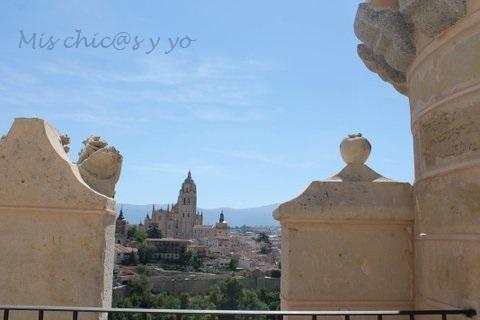 Vistas a la Torre de San Juan, Segovia