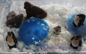 Manualidad sobre la Antártida