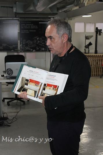 Te cuento en la cocina, Ferran Adrià
