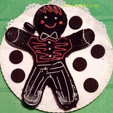 Bizcocho de galletas Oreo