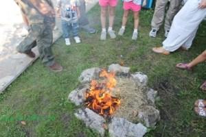 Taller familiar fuego Cantabria