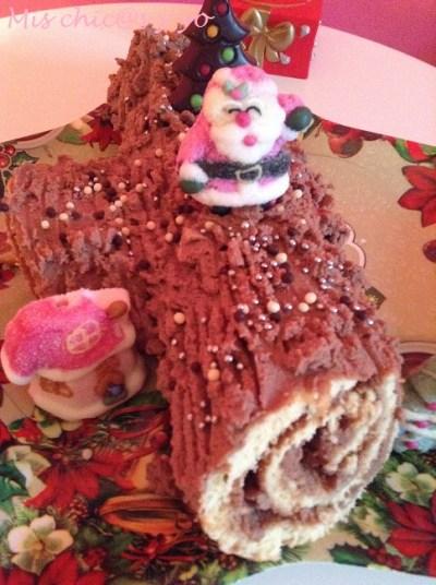 Receta de tronco de Navidad