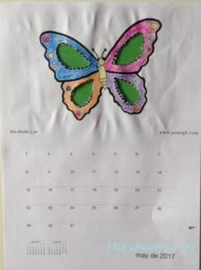 calendario infantil 2017