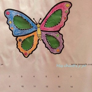 Calendario Manualidades con mis hijas Mayo