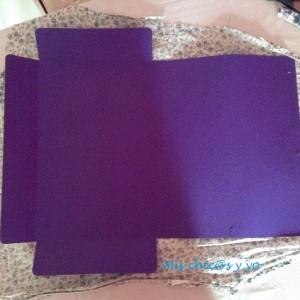 Forrar carpeta con tela