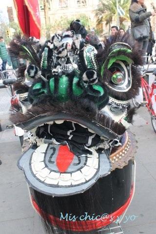 Desfile Año nuevo Chino 2017, Barcelona