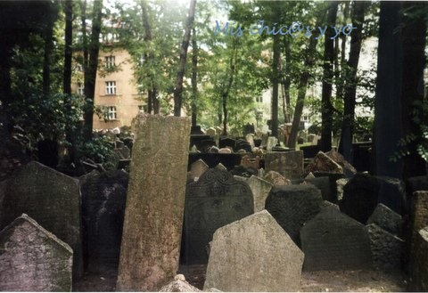 Cementerio judío, Praga